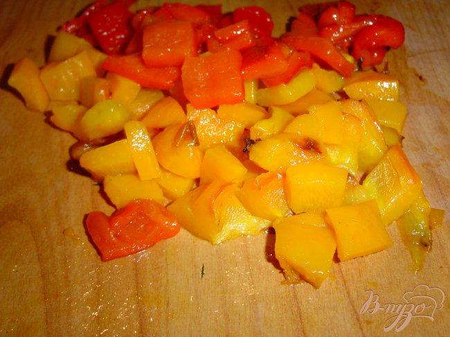 Фото приготовление рецепта: Салат шопский шаг №2