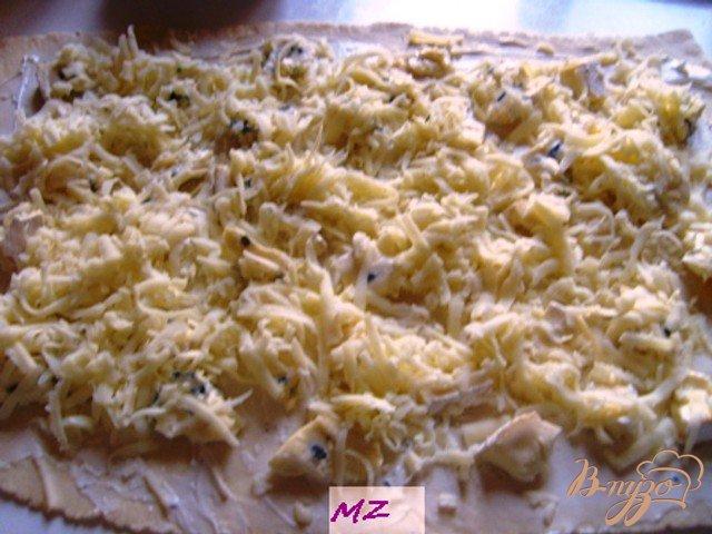 Фото приготовление рецепта: Завитушки с креветками шаг №3