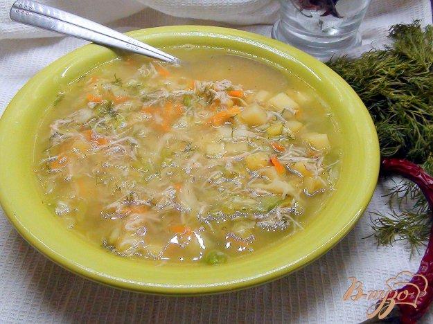 фото рецепта: Щи со свежей капустой на бульоне из индейки.