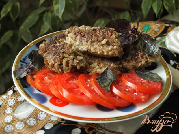 Рецепт Котлеты из печени с рисом