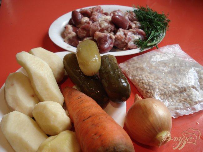 Фото приготовление рецепта: Рассольник домашний шаг №1