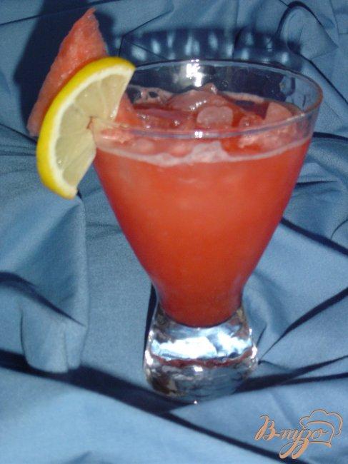 Фото приготовление рецепта: Арбузный лимонад шаг №3