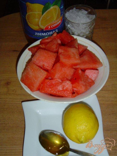 Фото приготовление рецепта: Арбузный лимонад шаг №1