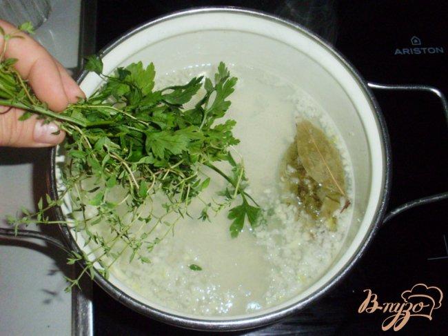 Фото приготовление рецепта: Суп Aigo boulido или