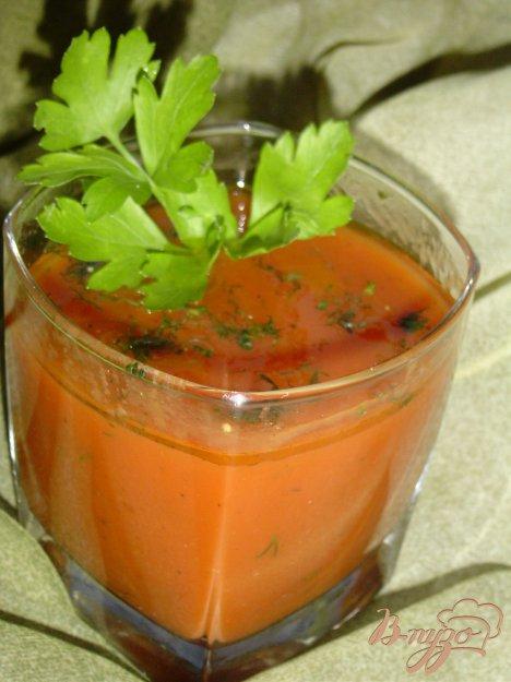 Рецепт Напиток из томатного сока с укропом.