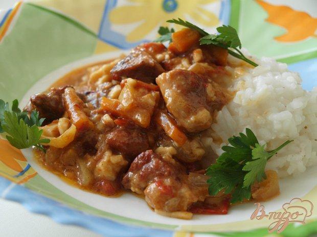 Фото приготовление рецепта: Свинина по-малаховски шаг №3