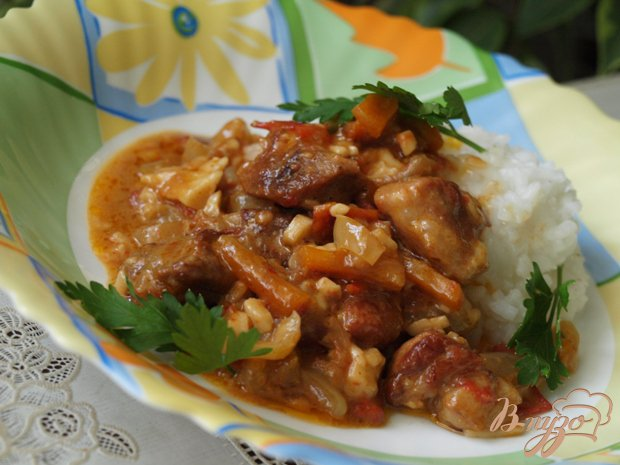 фото рецепта: Свинина по-малаховски
