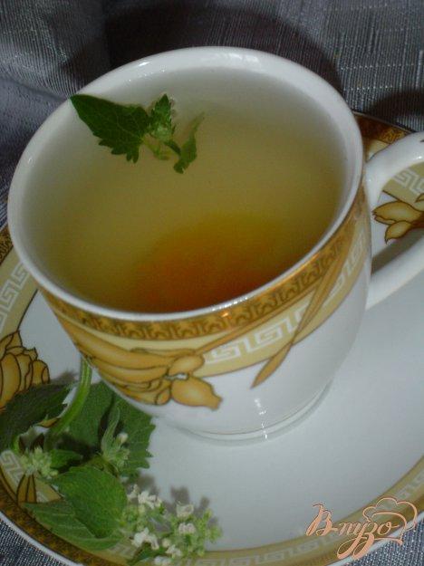 """Рецепт """"Чай с абрикосом,нектарином и мятой."""""""