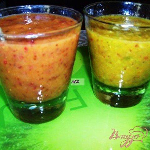 Рецепт Смузи персиково-малиновое