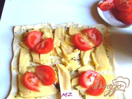 Треугольнички с сыром