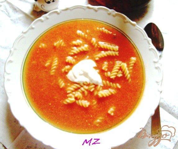 Фото приготовление рецепта: Помидорный суп шаг №6