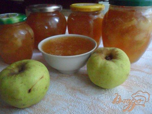 Яблочно-имбирный джем