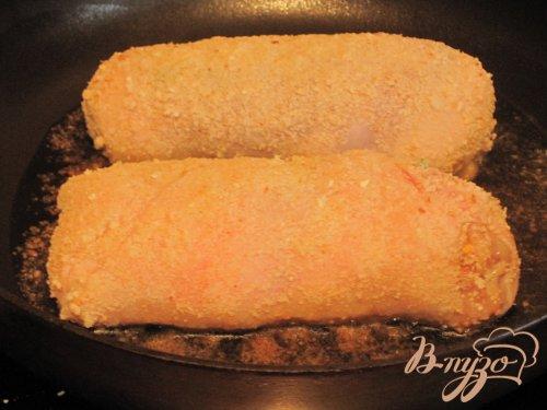 Котлеты из куриного филе с сыром.