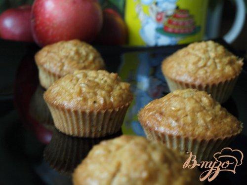 Овсяно-яблочные кексы