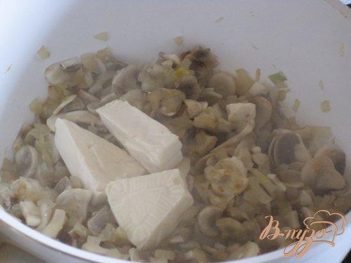 Быстрый грибной суп.