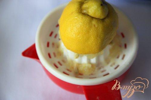 Кококсово-лимонный кекс с коньячной вишней