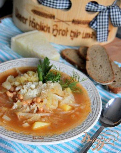 Крестьянский капустный суп