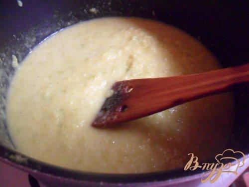 Кабачковый суп - пюре