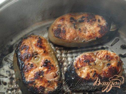 Сёмга в соево-горчичном маринаде