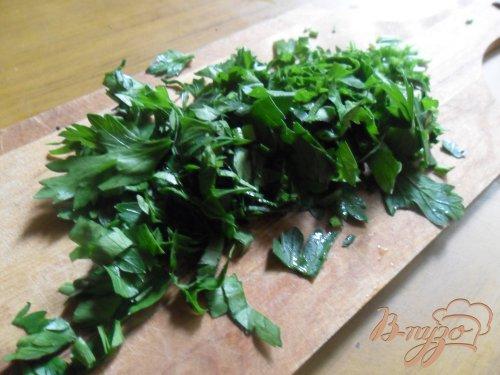 Фриттата с зелёным горошком и ветчиной в духовке.
