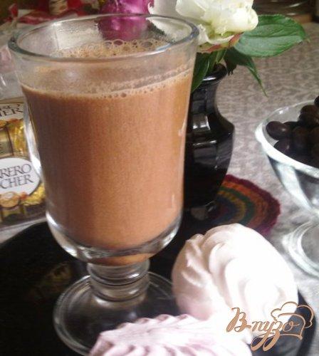 Шоколадно-имбирный напиток