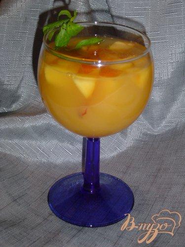 """Коктейль """"Персиково-абрикосовый рай"""""""