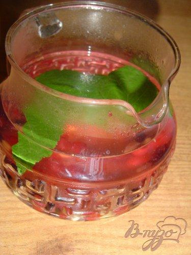 Чай из смородины, её листочков и имбиря