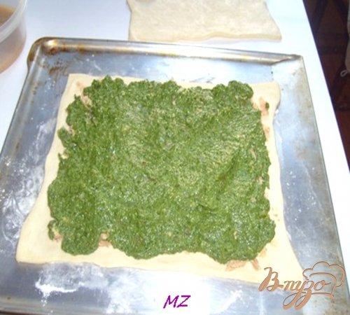 Пирог с горбушой