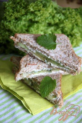 Сэндвичи с пикантным огурцом