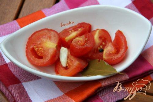 Летние квашеные помидоры