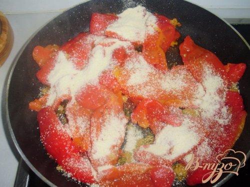 Перец, приготовленный  по рецепту Софи Лорен