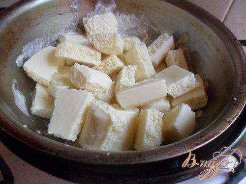 Клубничный чизкейк с белым шоколадом