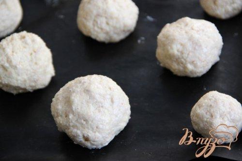 Мини-булочки с пшеничными хлопьями и начинкой