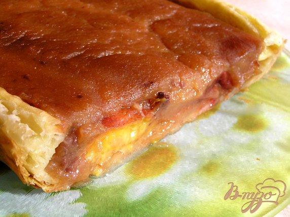 Рецепт Яблочный пирог со сливами и корицей