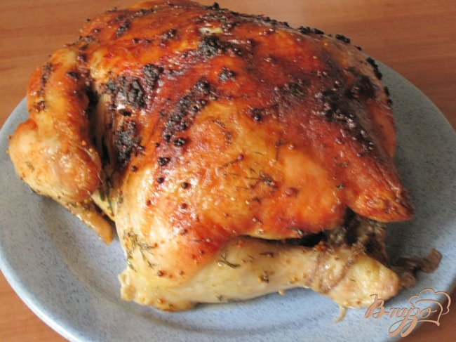 Фото приготовление рецепта: Курица запеченная в духовке шаг №4