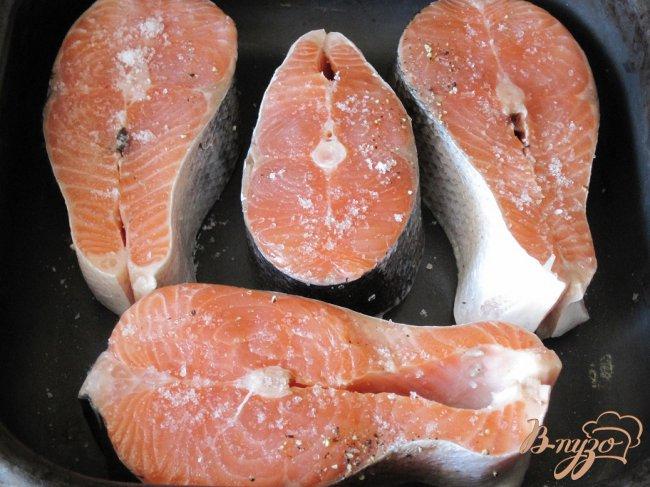 Фото приготовление рецепта: Стейки из лосося шаг №1