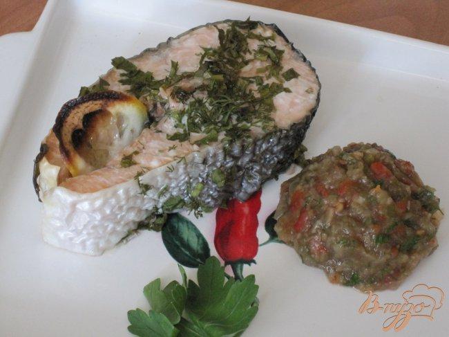 Фото приготовление рецепта: Стейки из лосося шаг №3