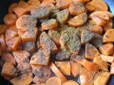 Суп-пюре из чечевицы с морковью
