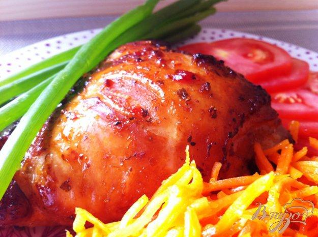 Рецепт Курица в меду и аджике