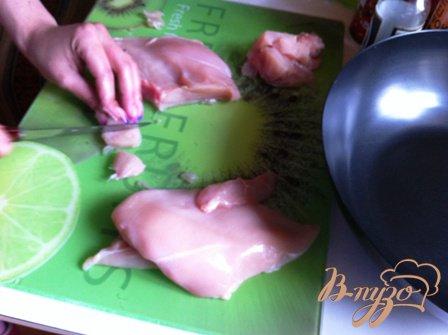 Курица с тайским мотивом