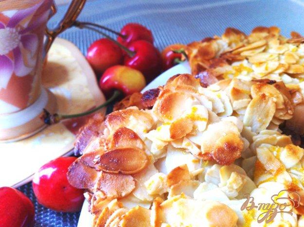 Рецепт Флорентины с миндалем и апельсином