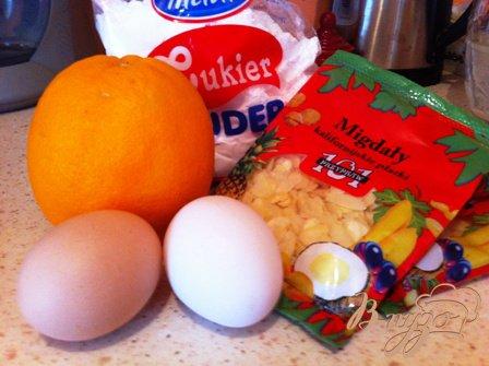 Флорентины с миндалем и апельсином