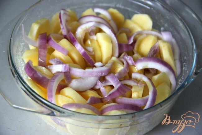 Фото приготовление рецепта: Crispy Gratin. шаг №2