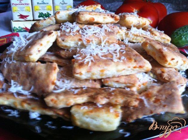 Рецепт Печенье пряное с сыром