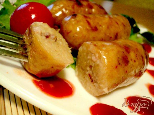 Рецепт Картофельная колбаса.