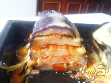 Рецепт Башенки из баклажан
