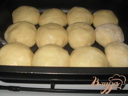 Сдобные булочки с абрикосами