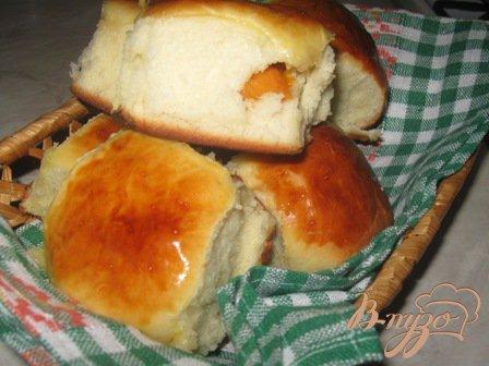 Рецепт Сдобные булочки с абрикосами