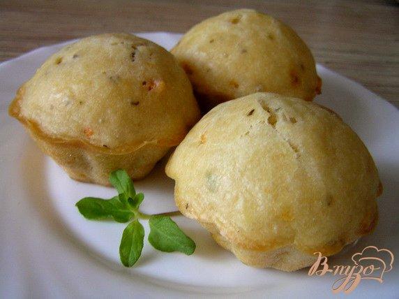 Рецепт Закусочные маффины с томатами