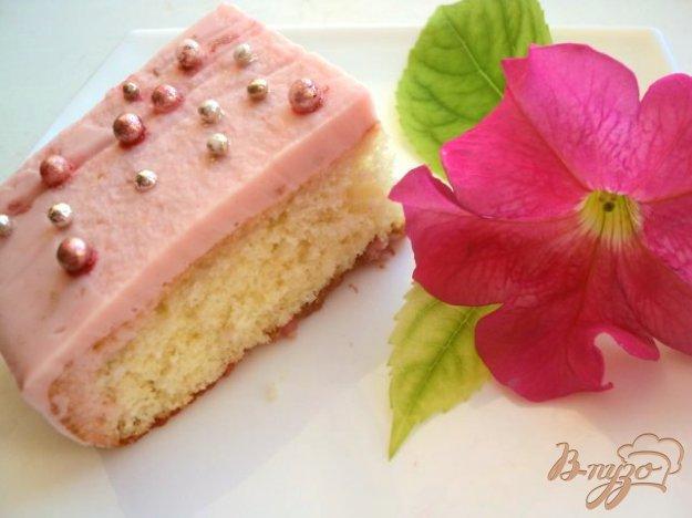 фото рецепта: Пирожное «Дюймовочка»